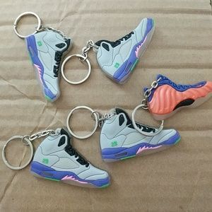 Other - Nike shoe Keychains 5